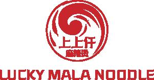 Lucky Mala Noodles Logo