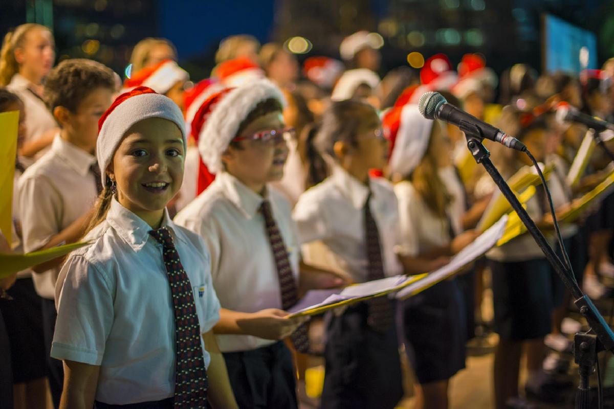 Christmas Caroling Details Image